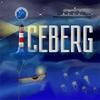 Iceberg congeladas ficam penduradas