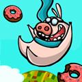 Eu comer Donuts